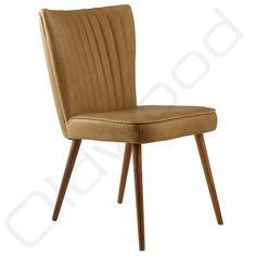 Bij Oldwood vind u de lederen stoel Julie, deze lederen stoel is niet alleen erg comfortabel maar straalt ook een fantastische retro stijl uit.