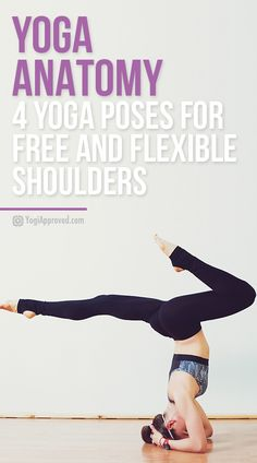 Learn the anatomy of your shoulders in relation to yoga. You'll create strong, powerful arms and stronger, more relaxed shoulders.