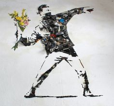 Artist Christian Pierini Creates Fantastic and Detailed Portraits Using Instruments and Objects Collage Sculpture, Sculptures, 3d Portrait, Atelier D Art, Bansky, Lost In Translation, Celebrity Portraits, Les Oeuvres, Art Direction