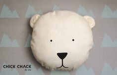 Hack your CHICK CHACK bear bag kit into a bear pillow: http://www.chickchack.me
