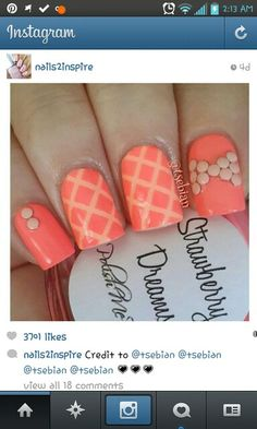 Love the coral & design! Coral Design, Color Pallets, Abs, Girly, Love, Prompt, Determination, Don't Forget, Beauty