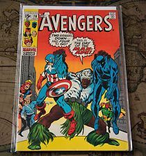 The Avengers #78 Marvel Comics Group Bronze Age First App Lethal Legion VF / NM in Books, Comics & Magazines, Comics, US Comics, 1970-1983 (Bronze Age), Avengers | eBay #RavenSanctum