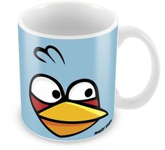 Caneca Personalizada Angry Birds Azul