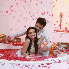 Get a glimpse of Bela and Mahir's best love moments from Colors show Naagin 3 Tv Show Couples, Cute Couples Photos, Couple Photoshoot Poses, Pre Wedding Photoshoot, Best Friend Lyrics, Cute Love Couple, Couple Pics, Couple Goals, Photo Poses For Boy