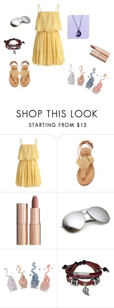 """Moon & Yellow"" by dialt-troffi on Polyvore featuring мода, Chicwish, Bettye, Charlotte Tilbury, Bling Jewelry, beautiful и moon"