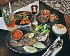 #Bali. Dinner at @UlekanBali. Not only authentic & delicious they also have their own touch that will tantalize your tastebud.