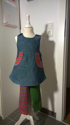Kleide Frida mit passender Leggins