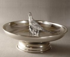 TRAY WITH PHEASANTS