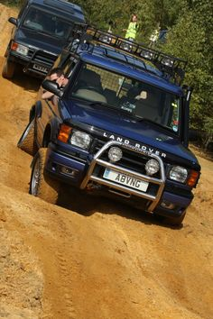 Land Rover Discovery fully flex'd