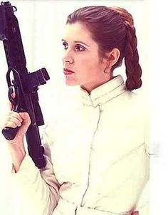 """Carrie Fisher as Leia in """"Star Wars"""". (Such a Rock Star of Star Wars! Film Star Wars, Star Wars Art, Star Trek, Star Wars Icons, Leia Star Wars, Space Ghost, Starwars, Star Wars Brasil, Photos Rares"""