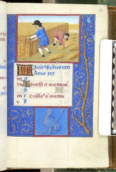 Book of Hours, MS M.348 fol. 18r - Images from Medieval and Renaissance Manuscripts - The Morgan Library & Museum