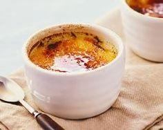 Ramequins de crèmes brûlées au foie gras et figues