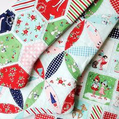 Fantastic Fussy Cutting In These Quilt Blocks Made With