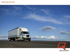 El nuevo entorno de la tecnología aplicada en operaciones logísticas puede adaptarse a muchas áreas de tu cadena de suministro. En materia de transporte puede ayudarte a crear mejores presupuestos, rastreo de tu carga y unidades en tiempo real, control de gasto de combustible y planificación de rutas. ¿Deseas adaptar dichas mejoras en tu flota de transporte? Q Solutions es la solución. #qsolutions #QSOLUTIONS #cadenadesuministro #logística