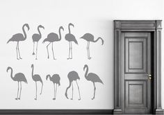 flamingos wall stickers - Google Search