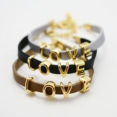 New Fashion jewelry Love charm leather bracelet for women ladie's wholesale B883 48,27 руб.