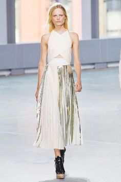 SPRING 2014 RTW PROENZA SCHOULER COLLECTION