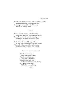 April 1924 : Poetry Magazine