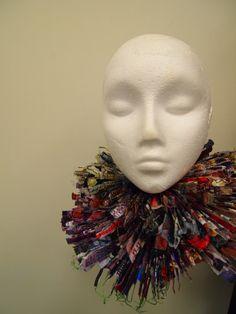 My neck piece for Queen Elizabeth project