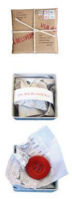 send a tiny letter via the world's smallest post service
