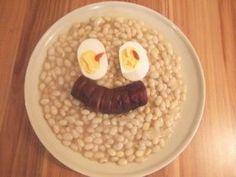 Biely fazuľový prívarok - Recept pre každého kuchára, množstvo receptov pre pečenie a varenie. Recepty pre chutný život. Slovenské jedlá a medzinárodná kuchyňa Grains, Rice, Eggs, Vegetables, Breakfast, Food, Meal, Egg, Eten
