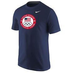 Team USA Nike Olympic Logo T-Shirt - Navy