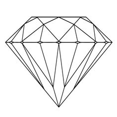 Quadro Diamond - You are in the right place about Quadro Diamond Tattoo Design And Style Galleries On The Net – A - Diamond Tattoo Designs, Diamond Tattoos, Geometric Drawing, Geometric Shapes, Triangle Art, Diamond Art, Diamond Drawing, Poster S, Grafik Design