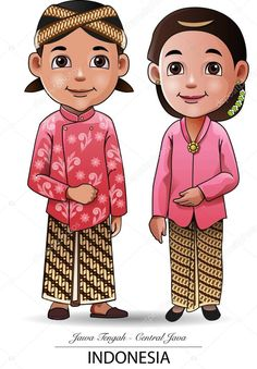 Find Vector Illustration Javanese Traditional Clothing stock images in HD and millions of other royalty-free stock photos, illustrations and vectors in the Shutterstock collection. Thousands of new, high-quality pictures added every day. Vector Graphics, Vector Free, Vector Vector, Kids Vector, Bride And Groom Cartoon, Free Kids Coloring Pages, Javanese Wedding, Indonesian Art, Free Vector Illustration