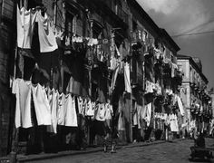vintage everyday: 21 Interesting Black and White Photos Captured Everyday Life in Italy in the 1950s