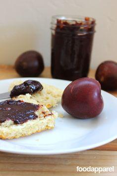 Overnight Crockpot Plum Butter: Classic Style I Foodapparel.com