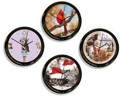 The California Clock Company, a #WindyCityGiftShow exhibitor, is the originator of unique clocks for every taste, including the exclusive Kit-Cat Clocks, all American-made in California.