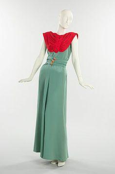 Suknia wieczorowa 1940r.