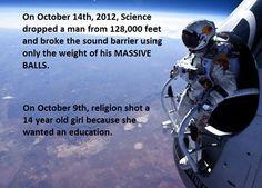 Science vs. Religion. - Imgur