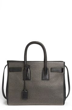 Saint Laurent 'Sac de Jour Studs - Small' Leather Tote available at #Nordstrom