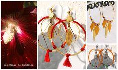 bijoux les créas de Sandrine automne 2017 Artisanal, Drop Earrings, Jewelry, Jewelry Designer, Fantasy, Jewlery, Jewerly, Schmuck, Drop Earring