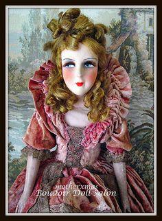 boudoir doll big hair french