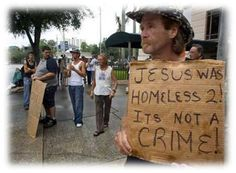 Jesus Was Homeless Too