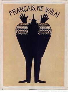 [Mai 1968]. Français me voilà ! Atelier d'Art et Archéologie : [affiche] / [non identifié]