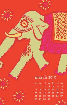 Regal Elephant, March 2010