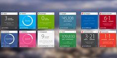 Metro User Interface: Description and Web Design Examples - DesignModo
