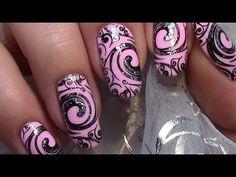 Simple Chic Nail Art Design