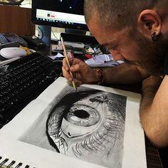 #nice #and #slow #progress #closeup #eye #drawing #pencildrawing  #blackart #darkart  #graphitedrawing #graphitepencil #bigeye #artistic #Draw  #realistic #art #sketch #wip #artistic #çizim #karakalem #göz