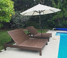 The Design Confidential Builders Showcase // Double Chaise Duo
