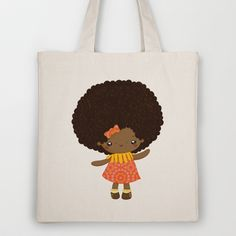 Mademoiselle afromignonne  Tote Bag