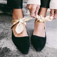 Chiara Ferragni Slides Patchwork Bowtie Kitten Heel Mules Row Lace up Sandals High Heel Pointed Toe Slipper Femme Women Shoes