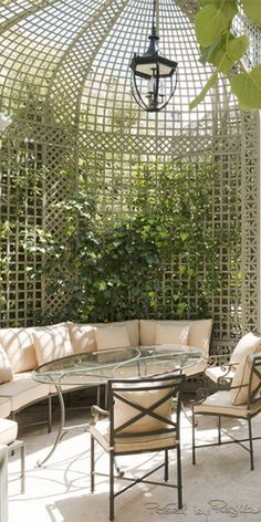 hotel paris Regilla Chanel spa at the Ritz, Paris Outdoor Cafe, Outdoor Rooms, Outdoor Living, Outdoor Decor, Garden Nook, Terrace Garden, Terrace Cafe, Garden Cafe, Cafe Design