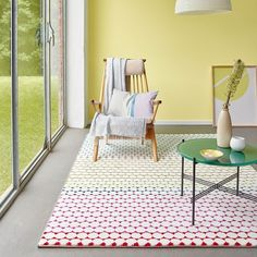 Happy Multi-coloured Rugs 3252 110 by Esprit