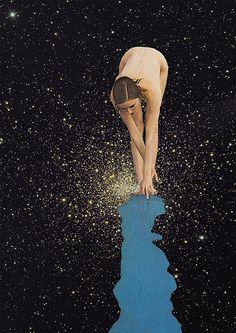 globular girl | by Mariano Peccinetti Collage Art