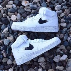 New Nike Air Force 1 Custom Oreo AF1 Sneakers High Quality a19e8d6908138