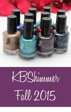 Phyrra shows you the KBShimmer Fall 2015 collection. Expand your nail polish collection with her layering tips!